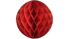 Image of a Crepe Paper Honeycomb