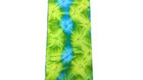 Image of a Blanket Tye Dye Blue/Green