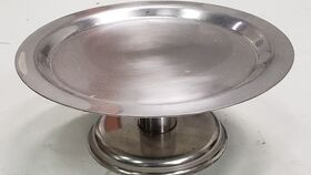 Image of a Cake Stand - Round - Silver