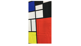 Image of a Blanket Multi Colored Square