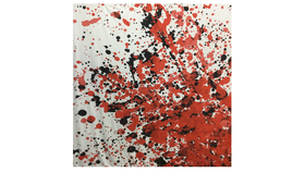 Image of a Backdrop Paint Splattered Pattern