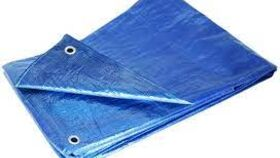 Image of a Blue Tarps