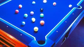Image of a Glow Pool Tables