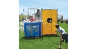 Image of a Dunk Tank- Deliver, Fill, 2 Staff
