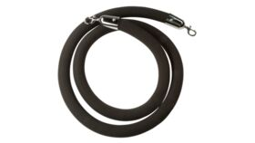 Image of a 5' Black Stanchion Rope