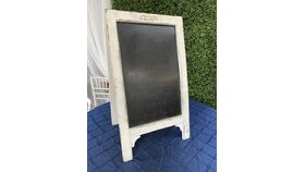 """Image of a Chalkboard White Easel - 16"""""""