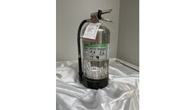 Image of a Silver Fire (Grease) Extinguisher