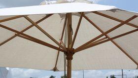 Image of a Ivory Market Umbrella - 9'
