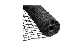 Image of a 4' x 50' Black Mesh Snow Fence