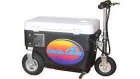 Image of a 750 Watt Electric Crusin Cooler