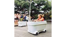 Image of a Bath Tub Racer