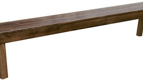 Image of a 8' Rustic Farm Table Bench