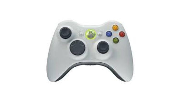 Picture of a Microsoft XBOX 360 Wireless Controller - White