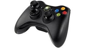 Image of a Microsoft XBOX 360 Wireless Controller - Black