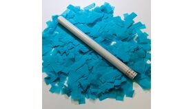 """Image of a 14"""" Teal Tissue Flick Stick"""