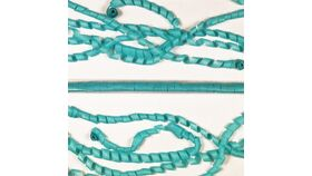 """Image of a 1"""" x 30' Teal Tissue Streamers"""