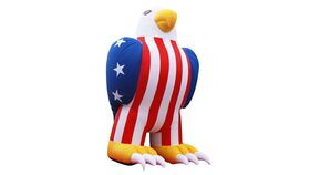 Image of a Giant Inflatable Eagle