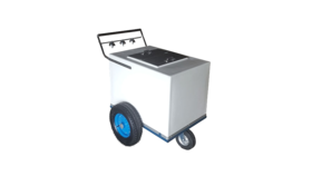 Image of a Ice Cream / Popsicle Cart