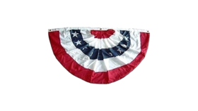 Image of a American Flag Bunting