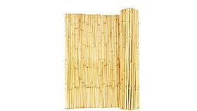Image of a 4' x 8' Natural Bamboo Fence Rental