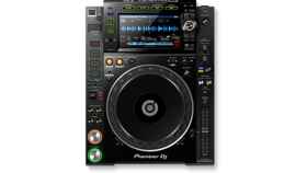 Image of a CDJ-2000NXS2-W – Pro Multi Player with High-Red Audio support