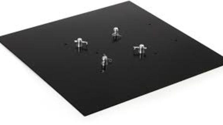 Picture of a Global Truss - 3' x 3' Global Truss Black F34 Steel Base Rental