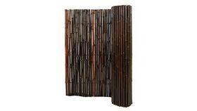 Image of a 4' Mahogany Bamboo Fence Rental