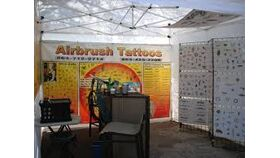 Air Brush Face Painting Booth image