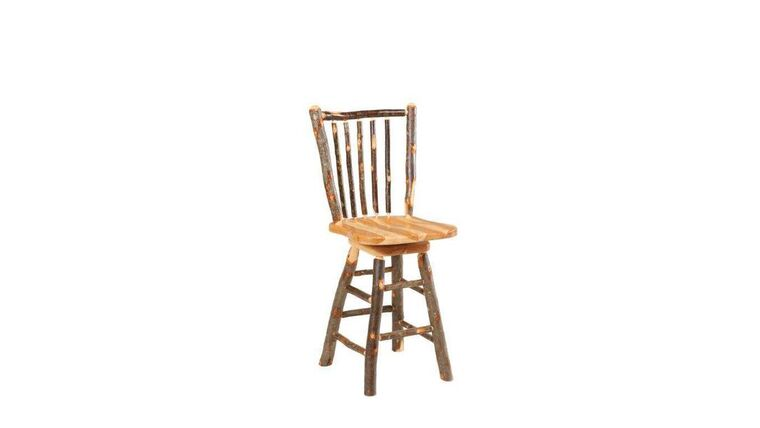 Picture of a Amish Stick Wood Barstool