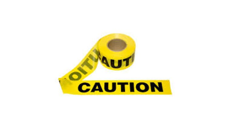 "Picture of a 3"" x 1000' - 3 Mil Caution Tape Purchase"