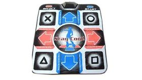 Image of a Block Head Dance Dance Revolution Wired Game Dance Pad