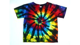 Image of a Tie Dye Apparel Booth