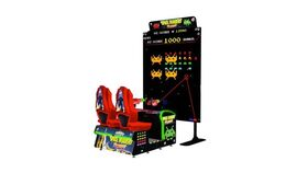 Image of a Giant Space Invaders Game