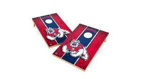 Image of a Fresno State Bulldogs Branded Corn Hole Toss Game