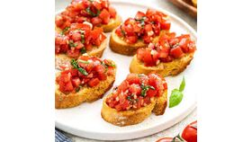 Image of a Bruschetta Purchase (Small - Serves 15)