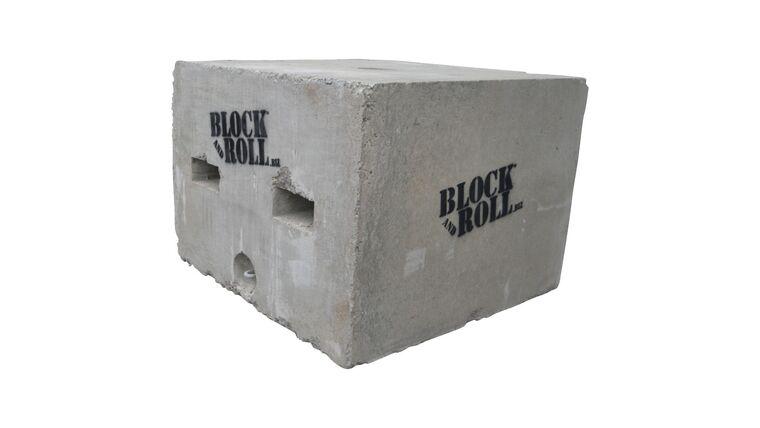 "Picture of a 3500lb ""Big Block"" Block And Roll® Tent Ballast Block"