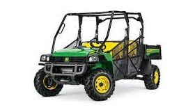 Image of a 6 Passenger Gas Powered Gator Utility Cart