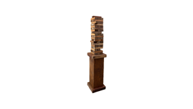 Image of a Giant Jenga Game Only