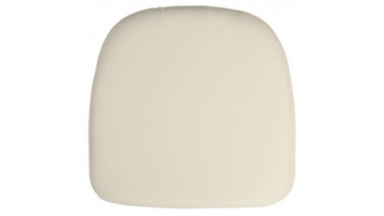 Picture of a Beige Chair Pad Cover Rental