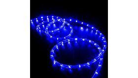 Image of a 15′ Blue LED Rope Light Rental