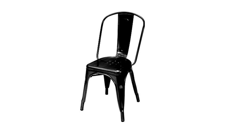 Picture of a Black Engrom Chair