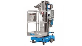 Image of a Genie 30' Personnel Lift w/4 Outriggers Rental