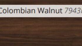 Image of a Matte Columbian Walnut Laminate Dance Floor - 4' x 4' - Sico