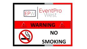 """Image of a 8.5"""" x 11"""" No Smoking Sign - Laminated"""