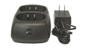 Image of a Motorola walkabout 2-Way Radio Desk Top Charger (Double Unit) Rental