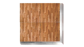 Image of a Gloss New England Plank Composite Laminate Dance Floor - 4' x 4'