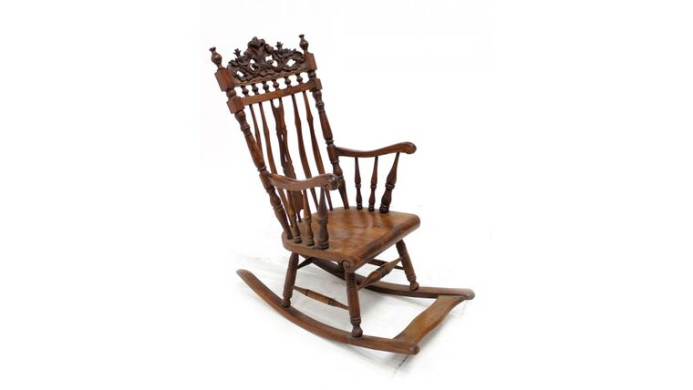 Picture of a Vintage Rocking Chair