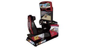 Image of a 1 Player Nascar Racing Arcade Game