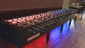 Image of a 20 Player LED Illuminated Foosball Table