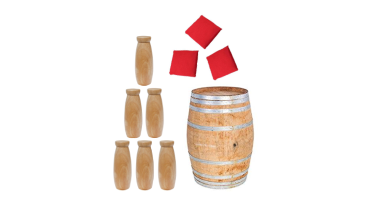 Picture of a 1 Barrel Bean Bag Toss Carnival Game